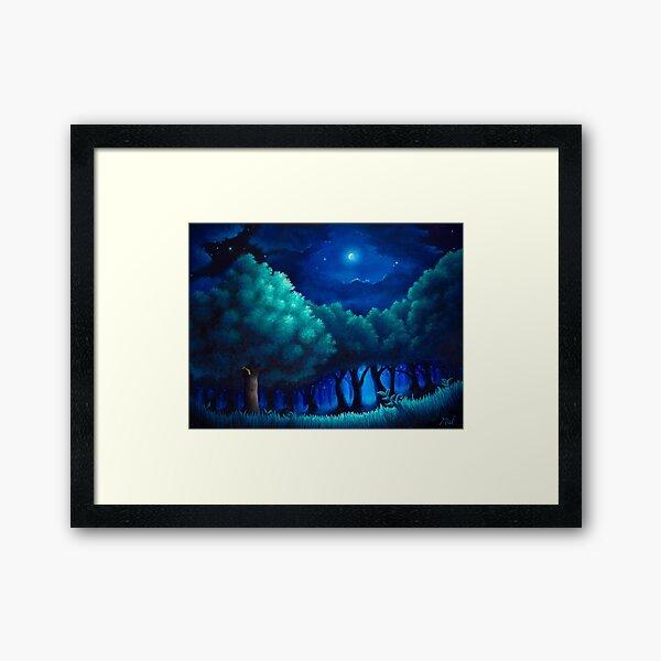 Viridian Forest Framed Art Print