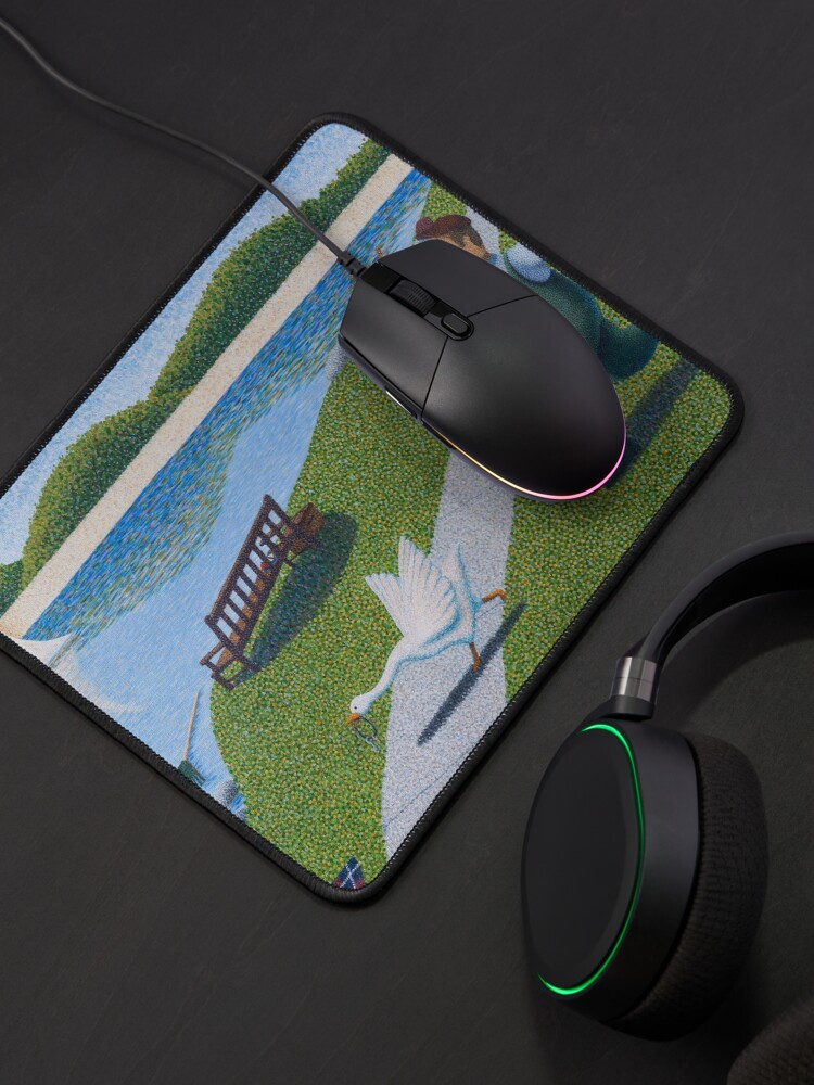 Alternate view of Une Oie Mouse Pad