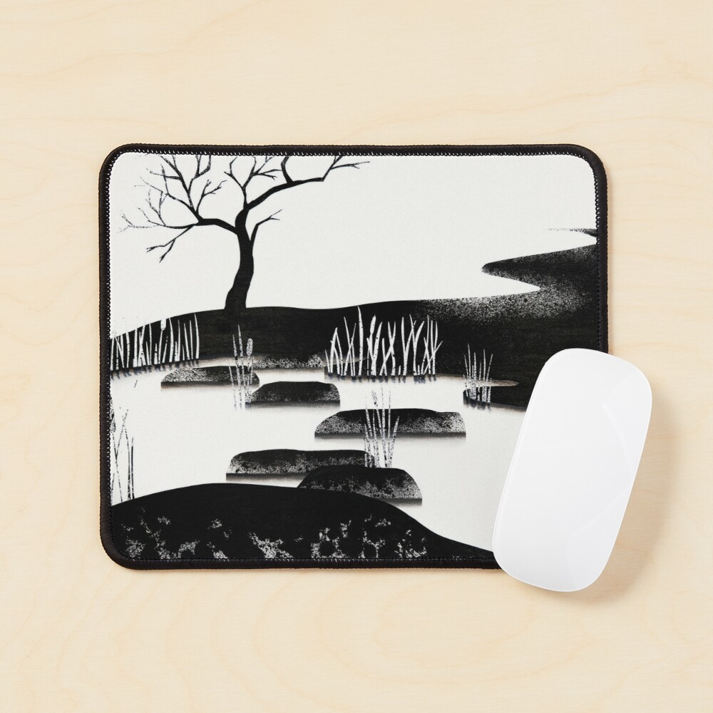 Contrast Mouse Pad