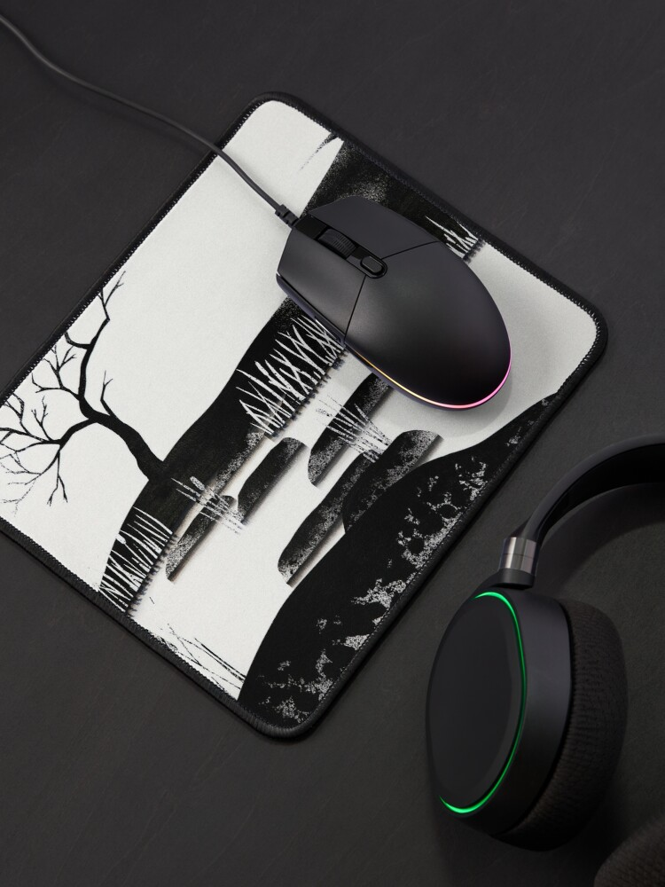 Alternate view of Contrast Mouse Pad