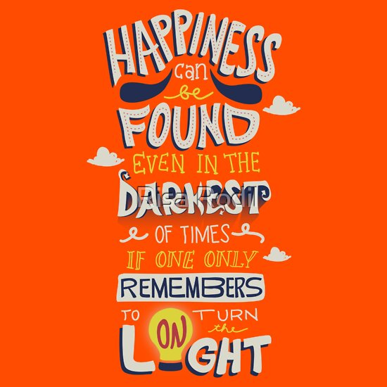 78238c9f1 TShirtGifter presents: Happiness can be found even in the darkest times |  Women's T-