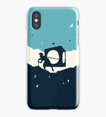 Cracks in the universe iPhone Case