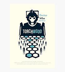 Torchwood Photographic Print