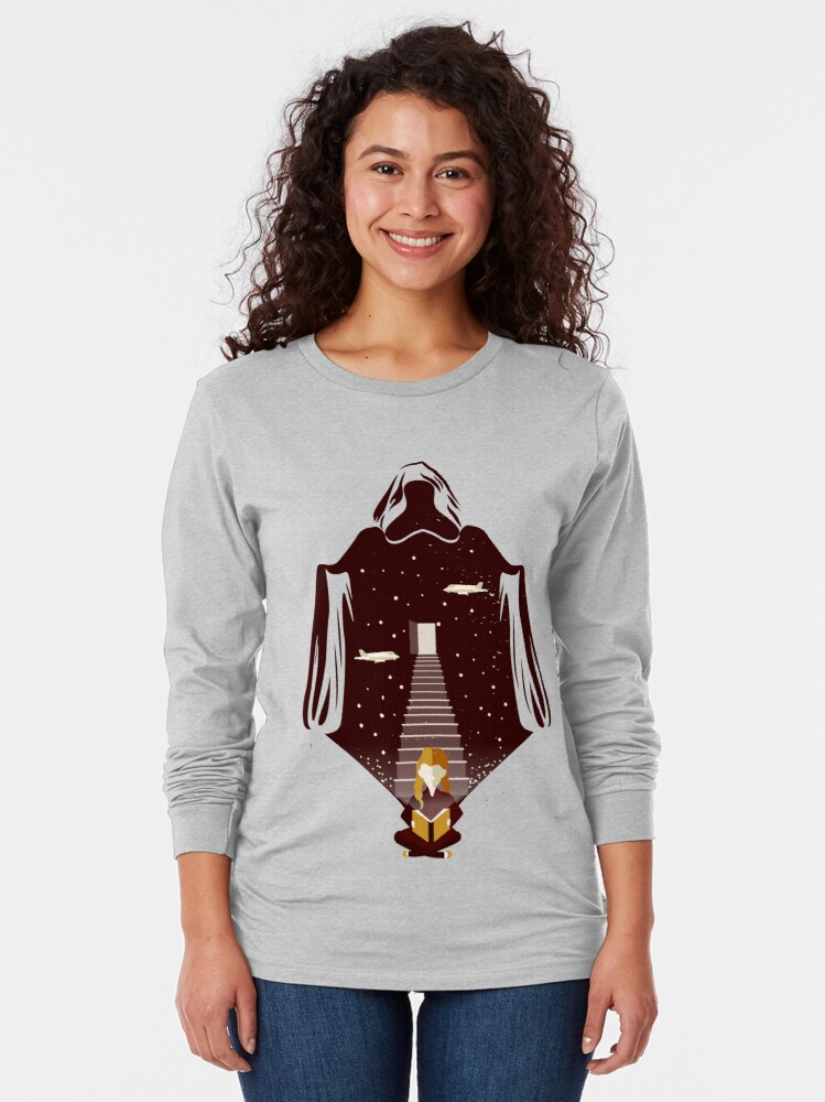 Alternate view of The Book Thief Long Sleeve T-Shirt