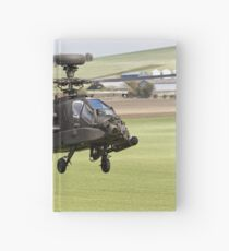 British Army Air Corps AugustaWestland Apache AH1 Helicopter Hardcover Journal