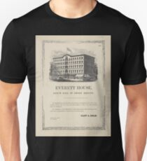 172 Everett House north side of Union Square 3 lines House is now open Above picture of the hotel Unisex T-Shirt