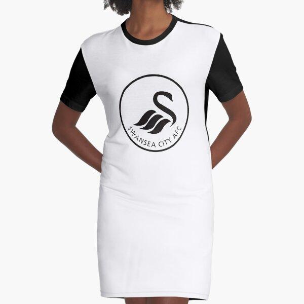 Floreat-Swansea-AFC Graphic T-Shirt Dress