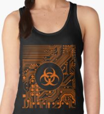 Orange Biohazard (Cybergoth) T-Shirt