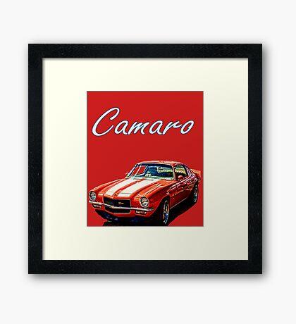 1970 Camaro Z-28 Framed Print
