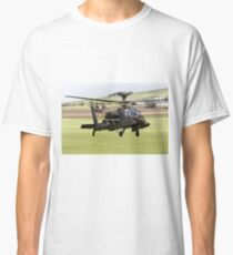 British Army Air Corps AugustaWestland Apache AH1 Helicopter Classic T-Shirt