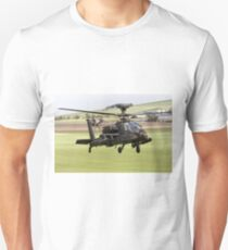 British Army Air Corps AugustaWestland Apache AH1 Helicopter T-Shirt