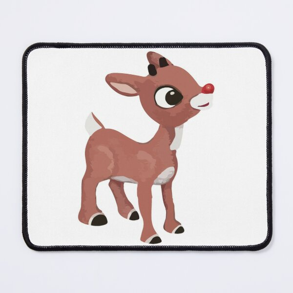 Classic Rudolph - © GraphicLoveShop Mouse Pad