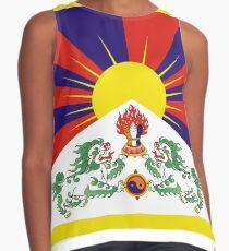 Flag of Tibet - Tibetan flag Contrast Tank