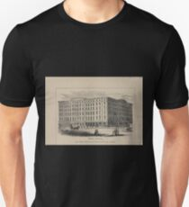 061 Bible House Astor Place Ninth Street Third and Fourth Avenues T-Shirt