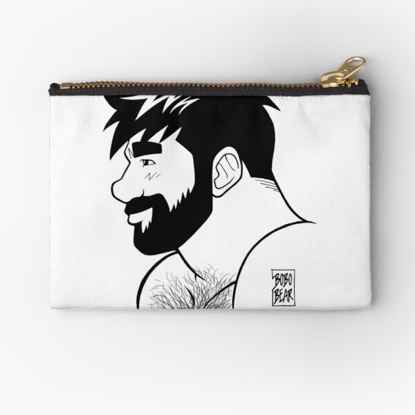 ADAM LIKES INK Zipper Pouch