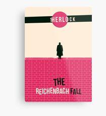 Reichenbach Fall Metal Print