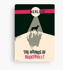 Hounds of Baskerville Canvas Print