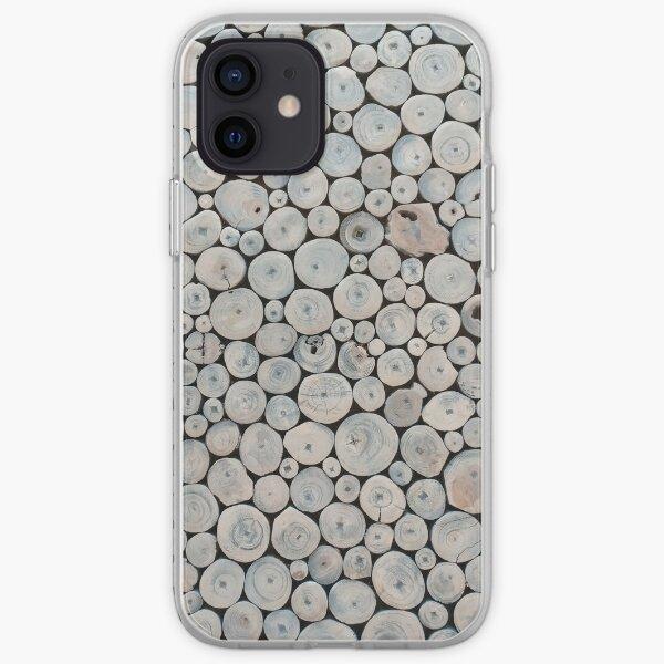 Art Land, Pebbles, Round Pieces, Mosaic iPhone Soft Case