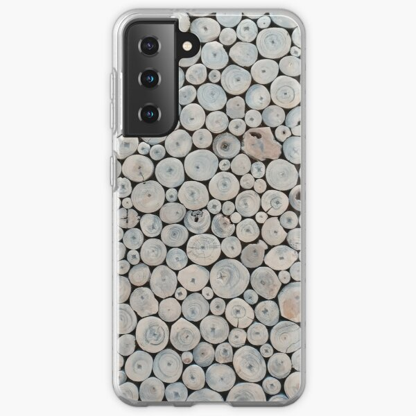 Art Land, Pebbles, Round Pieces, Mosaic Samsung Galaxy Soft Case