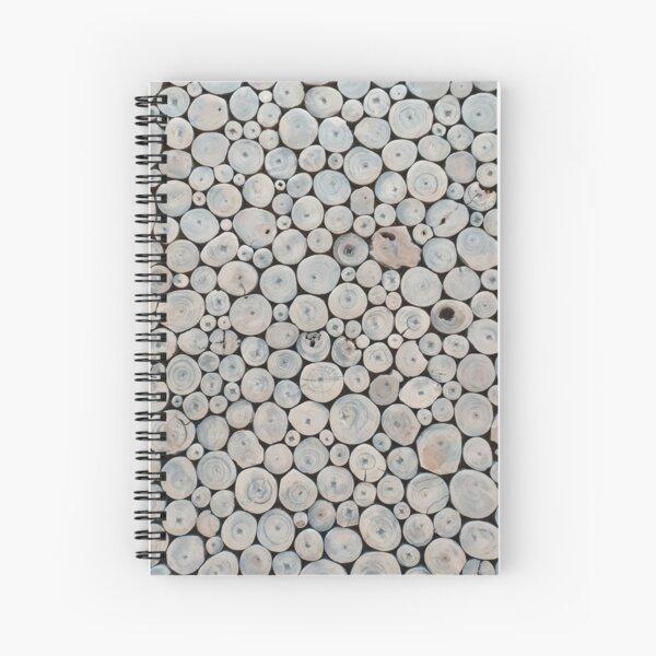 Art Land, Pebbles, Round Pieces, Mosaic Spiral Notebook