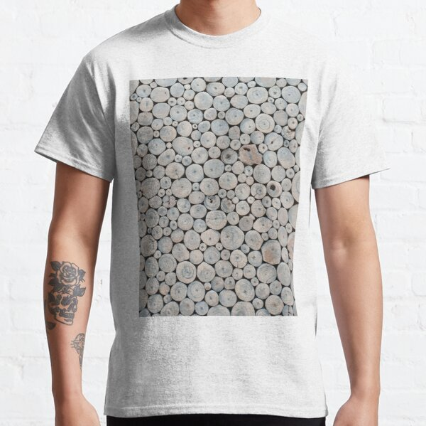 Art Land, Pebbles, Round Pieces, Mosaic Classic T-Shirt