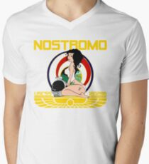 The Nostromo Men's V-Neck T-Shirt