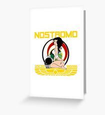 The Nostromo Greeting Card