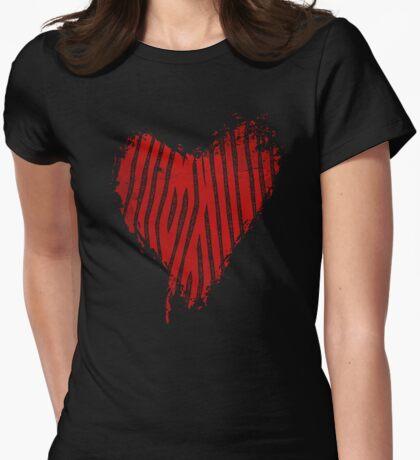 Grunge Heart - Love Valentine T-Shirt