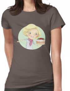 Mary Berry Womens Fitted T-Shirt