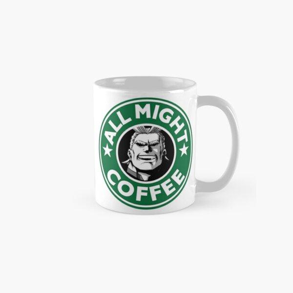 All Might Coffee - my hero academia Classic Mug
