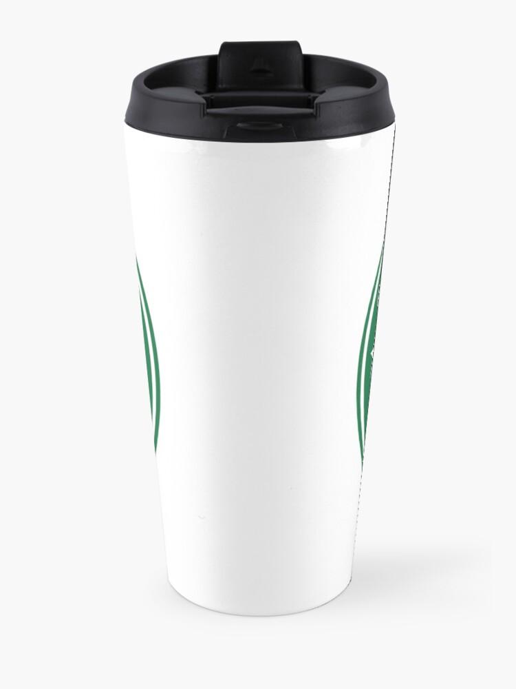 Alternate view of All Might Coffee - my hero academia Travel Mug