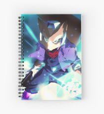 MELEE | Fox - Blue Spiral Notebook