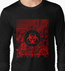 Red Biohazard (Cybergoth) T-Shirt