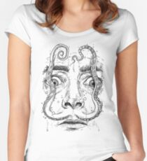 OCTOPUS DALI Women's Fitted Scoop T-Shirt