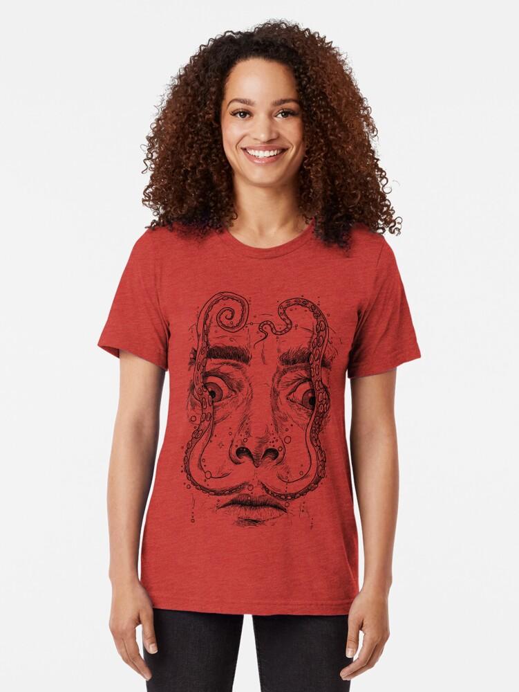 Vista alternativa de Camiseta de tejido mixto OCTOPUS DALI