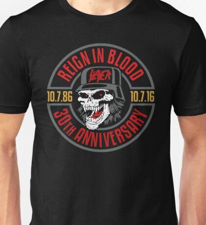 Slayer's 30th Anniversary Tee Unisex T-Shirt