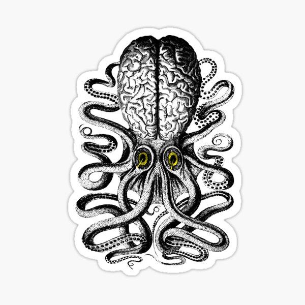 Release the Regular Brain Kraken Sticker