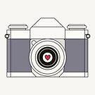 Retro-Kamera von RumourHasIt