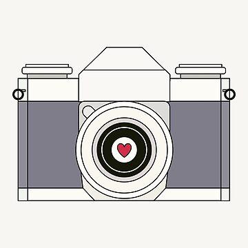 Retro Camera by RumourHasIt