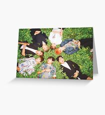 BTS Fire Greeting Card