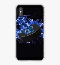 Toronto Maple Leafs Puck iPhone Case