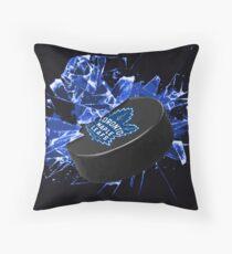 Toronto Maple Leafs Puck Throw Pillow