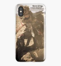 Claymore's Stats (Scavengers Poster) iPhone Case