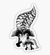 Wacky Weasel Sticker