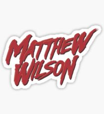 MATTHEW WILSON Sticker