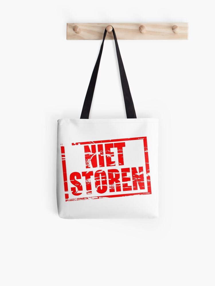 Wonderbaarlijk Illustration - Red stamp - Do not disturb in Dutch - Niet storen LZ-61