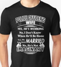 Police Officer's Wife T-Shirt  Unisex T-Shirt