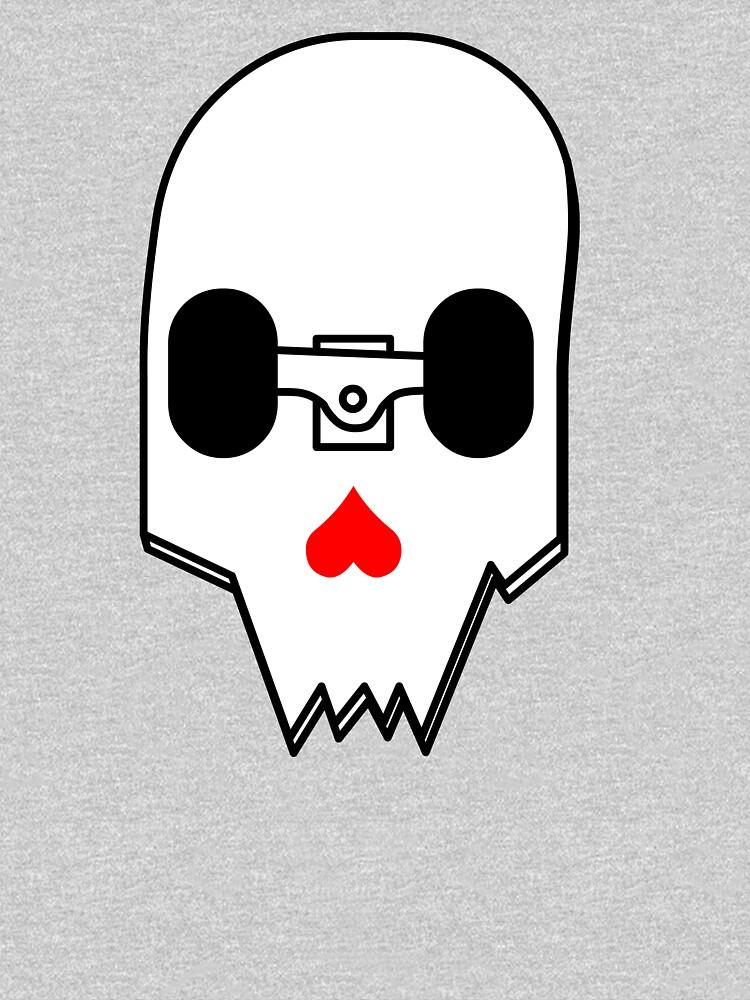 Broken Skateboard Skull V1 by siyu