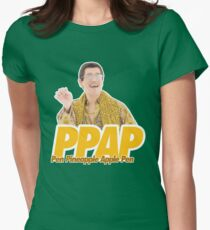 Pen Pineapple Apple Pen - PPAP Womens Fitted T-Shirt