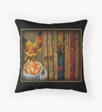 CHICKEN SOUP ITS GOOD FOR THE SOUL - PILLOW & OR TOTE BAG Throw Pillow